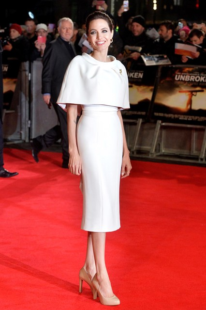 Анджелина Джоли в Ralph & Russo Couture платье с болеро