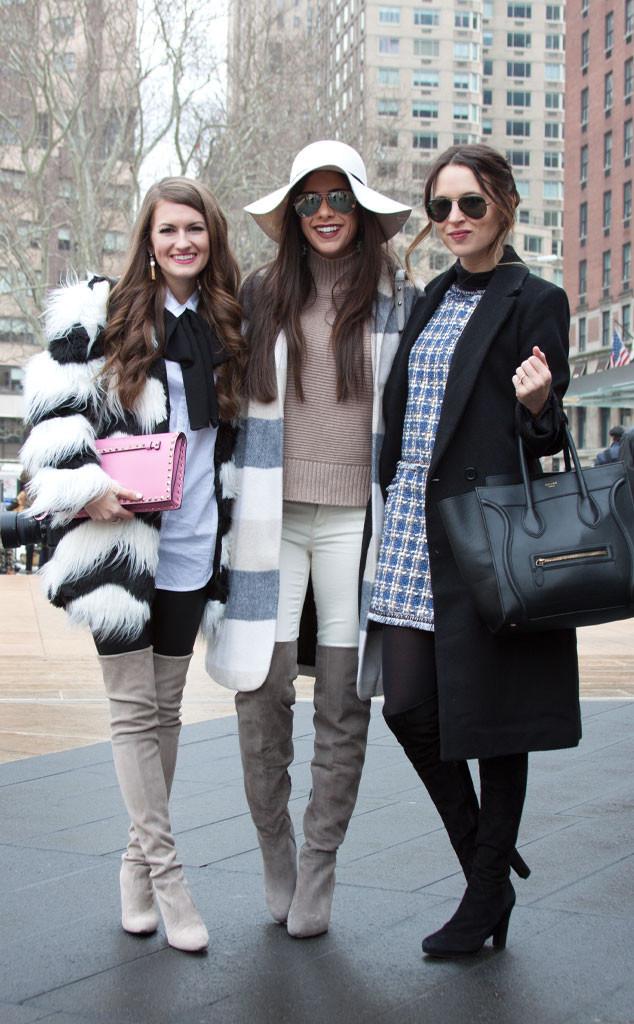 Caitlin Covington, Emily Gemma и Christina DeFilippo