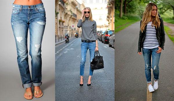 Девушки в джинсах relaxed fit