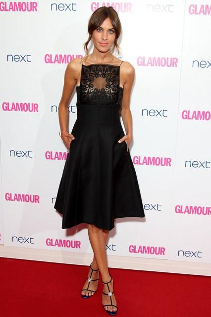 Алекса Чанг в роскошном платье от Dior