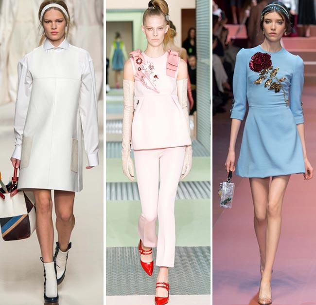 Девушки, одетые в стиле хиппи - тенденции моды сезона осень/зима 2015-2016
