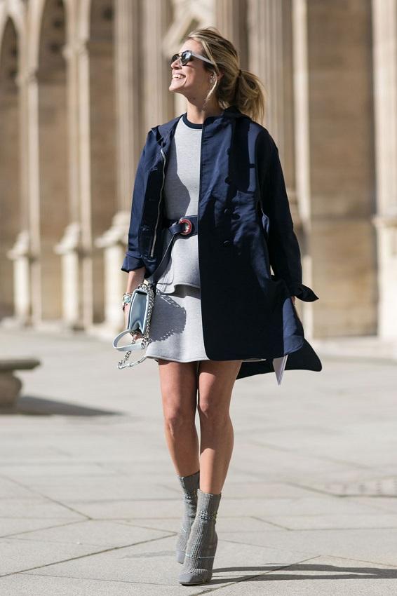 И в неяркой классической одежде можно выглядеть свежо и ультрастильно - стоит лишь добавить аксессуаров
