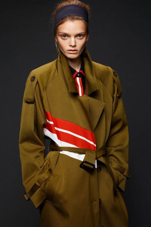 Пальто в стиле милитари - тенденции моды осень/зима 2015/2016