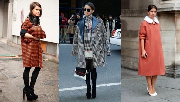 Мирослава Дума в трех абсолютно разных пальто оверсайз