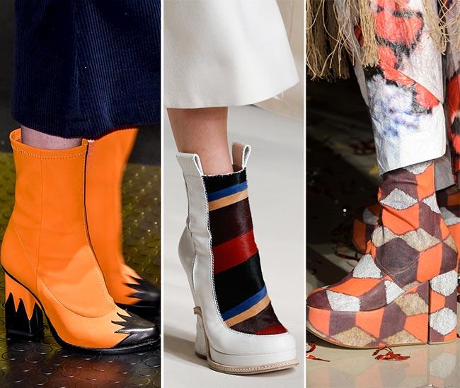 Обувь с графическими принтами - тенденции обуви осень/зима 2015-2016