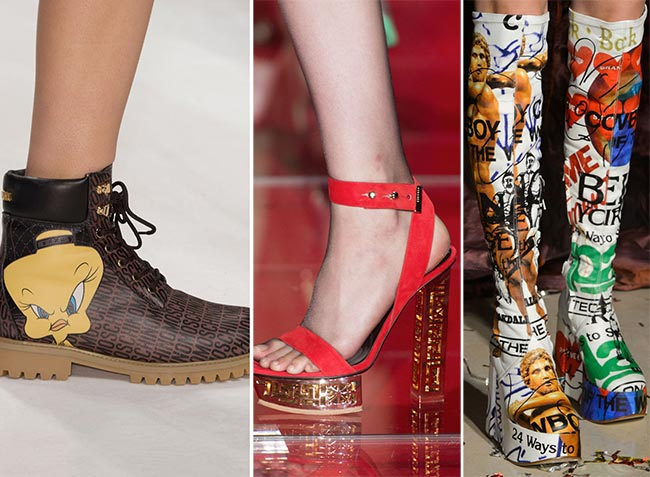 Обувь с принтами - тенденции обуви осень/зима 2015-2016