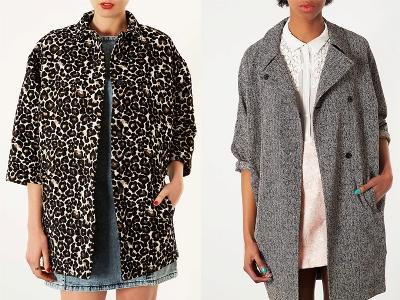 Пальто оверсайз с короткими рукавами