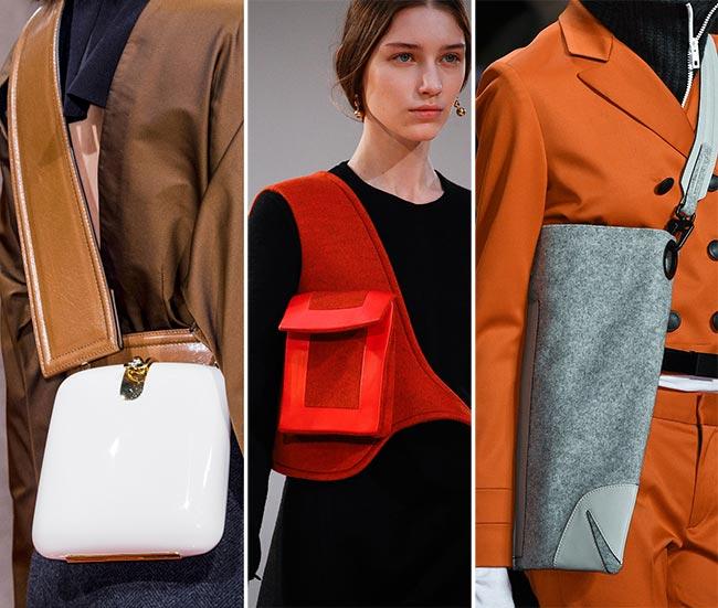 Сумки через плечо, освобождающие руки - тенденции сумок осень/зима 2015-2016