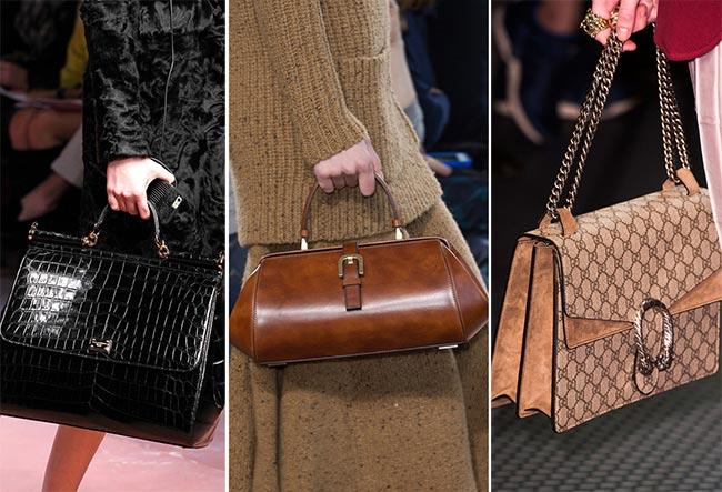 Сумочки в стиле ретро - тенденции сумок осень/зима 2015-2016
