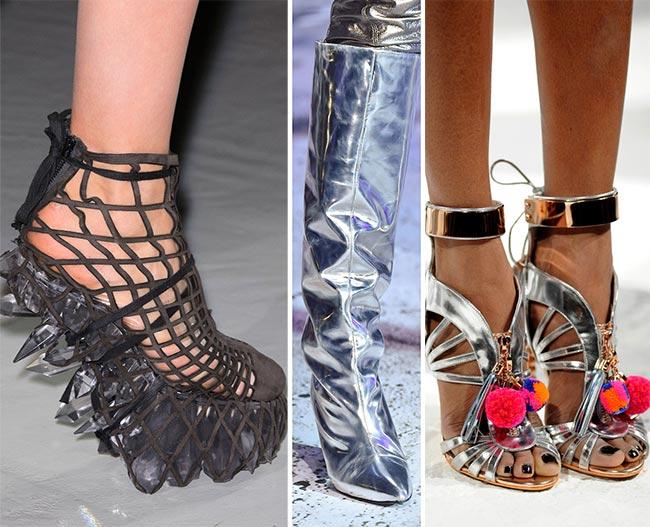 Туфли из будущего - тенденции обуви осень/зима 2015-2016