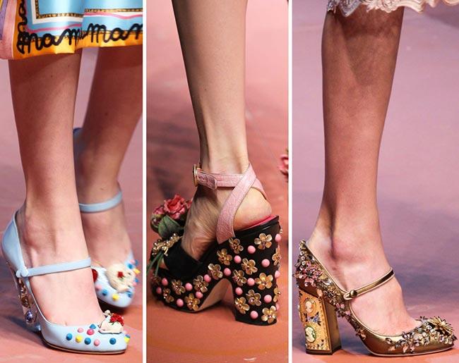 Туфли, украшенные бисером - тенденции обуви осень/зима 2015-2016