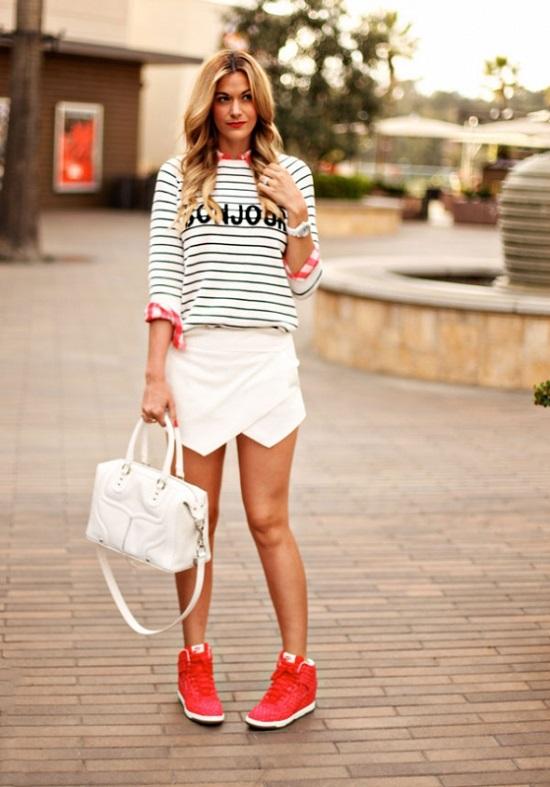 Какие босоножки носить с юбками