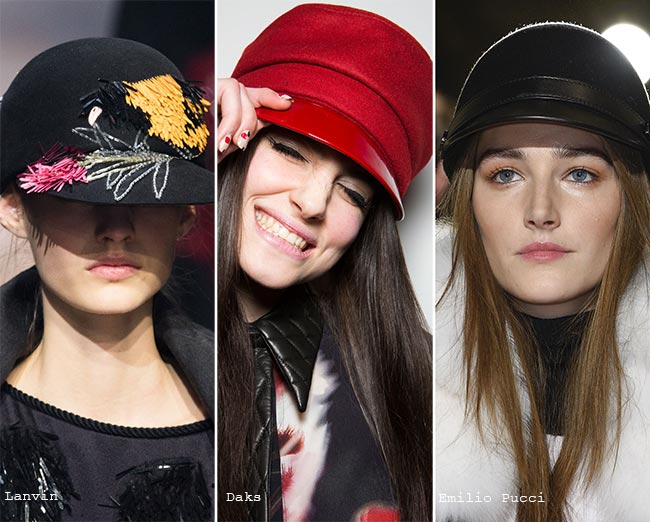 Шлемы - модные головные уборы осень/зима 2015-2016