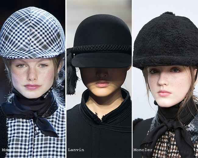 Шляпки наездниц - модные головные уборы осень/зима 2015-2016
