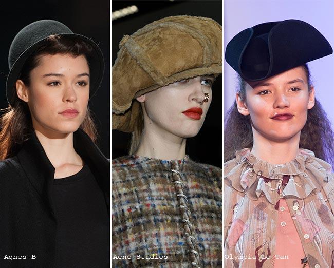 Забавные шляпы - модные головные уборы осень/зима 2015-2016