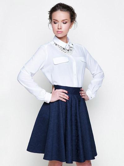 Блузка к юбке карандаш
