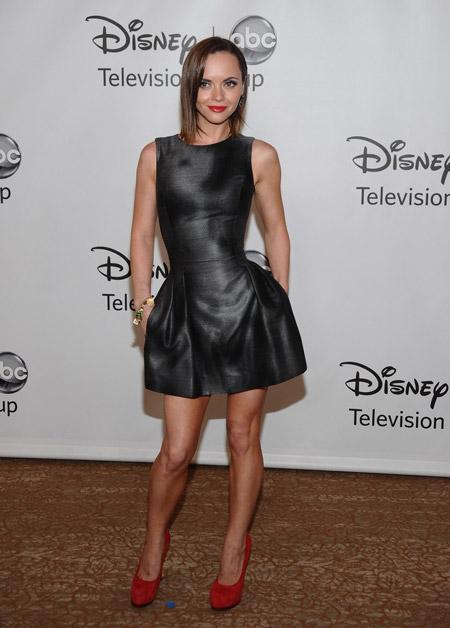 Кристина Риччи в маленьком черном платье