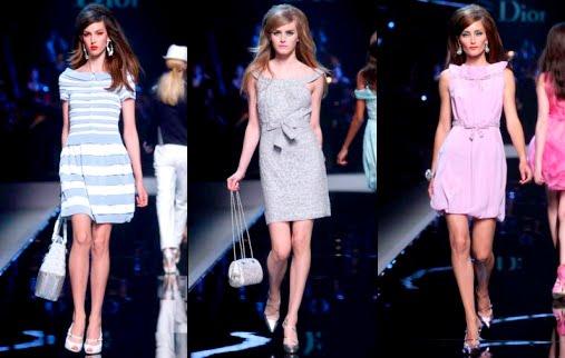 Модели в красивых платьях в стиле бэби-долл