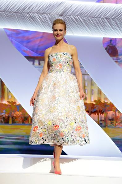 Николь Кидман на церимонии открытия ежегодного каннского фестиваля, 2013