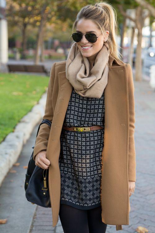 Как шарф пальто? - носить womanadvice.ru с