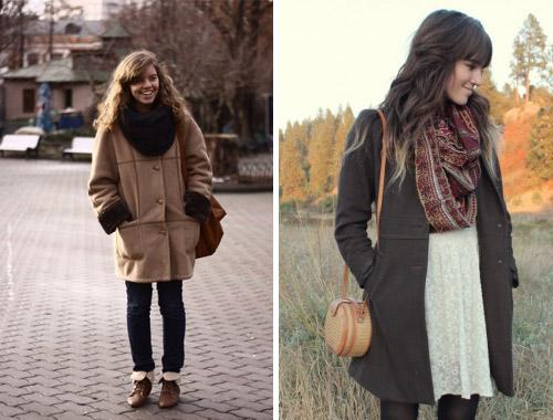 Девушки-в-пальто-и-снудах