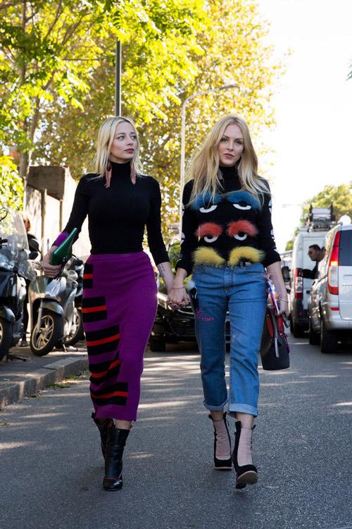 Юбка и Джемпер Caroline Vreeland и Shea Marie - примеры неизмеримой силы декора