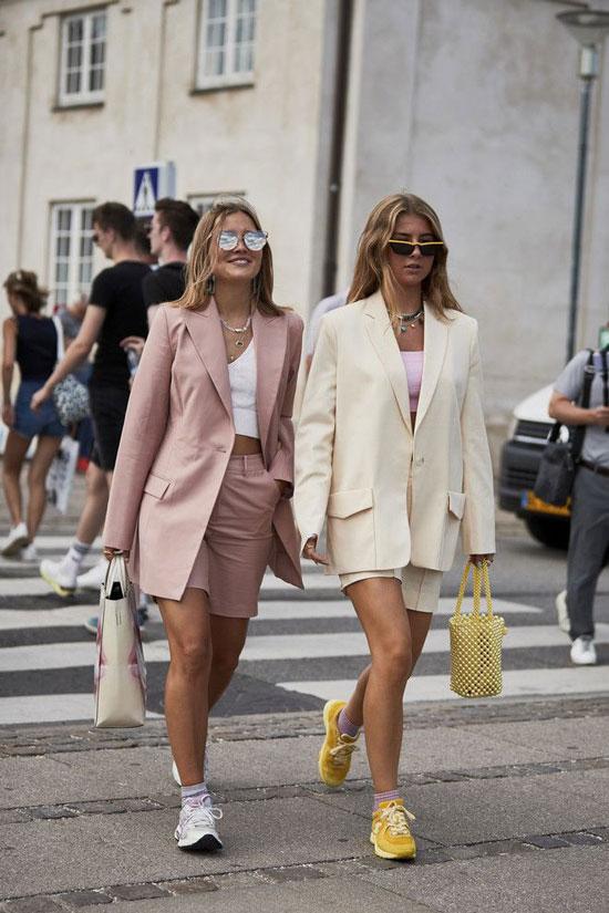 С чем носить розовый жакет для женщин