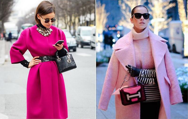 Девушки в розовых нарядах