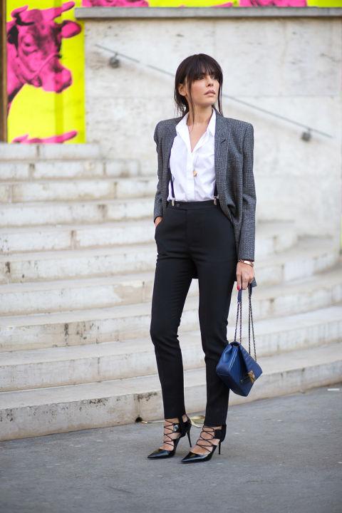 Evangelie Smyrniotaki в потрясающих туфлях