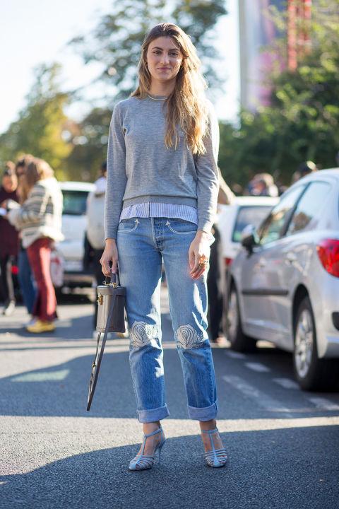 Megan Reynolds и ее чудесные джинсы. Простые вещи при небольших усилиях могут стать совершенно особыми