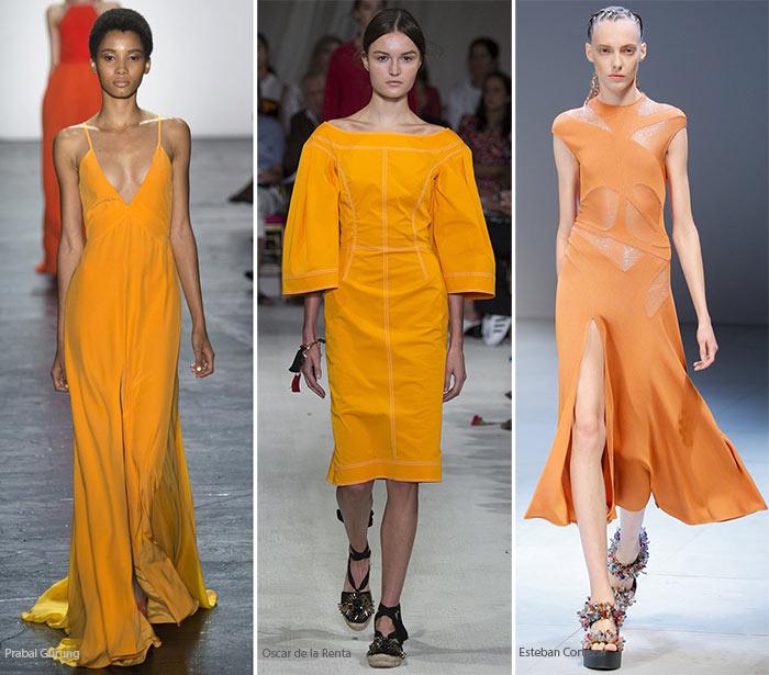 Модный цвет весна/лето 2016 - Папайя