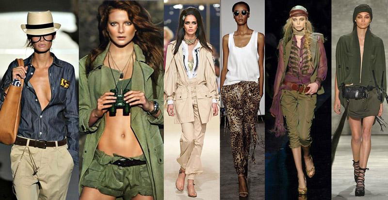 3fafdfcb15b Стиль сафари в женской и мужской одежде, основные элементы, фото