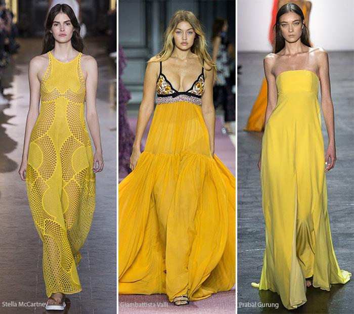 Модный цвет весна/лето 2016 - лютиковый