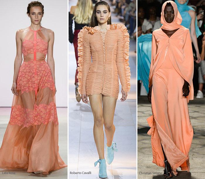 Модный цвет весна/лето 2016 - Сливочный персик