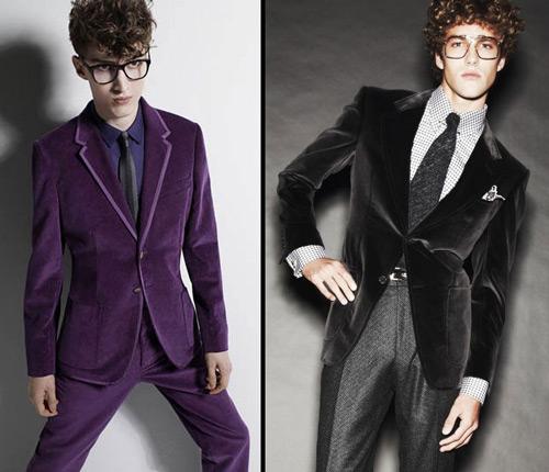 вельветовый пиджак сдвоенное фото
