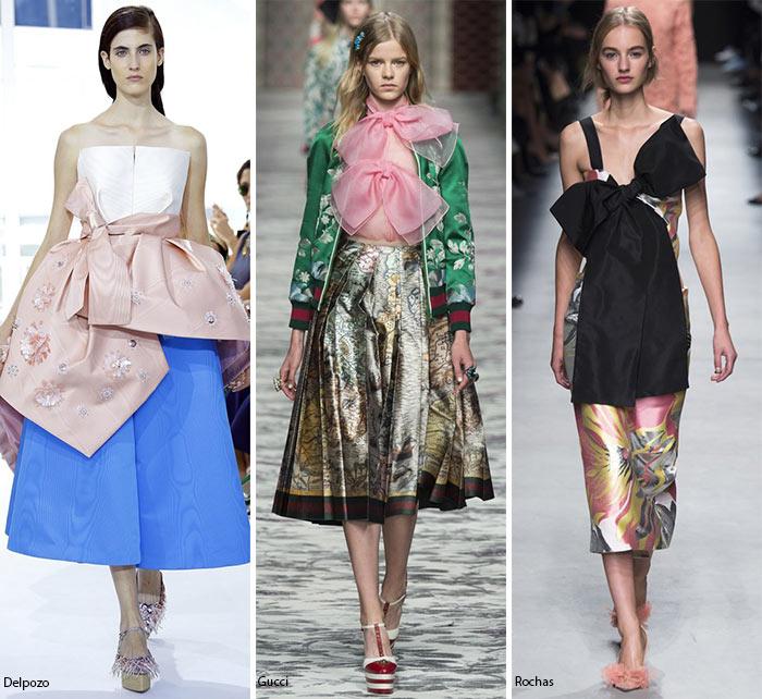 Банты, банты, больше бантов - модные тенденции весна-лето 2016