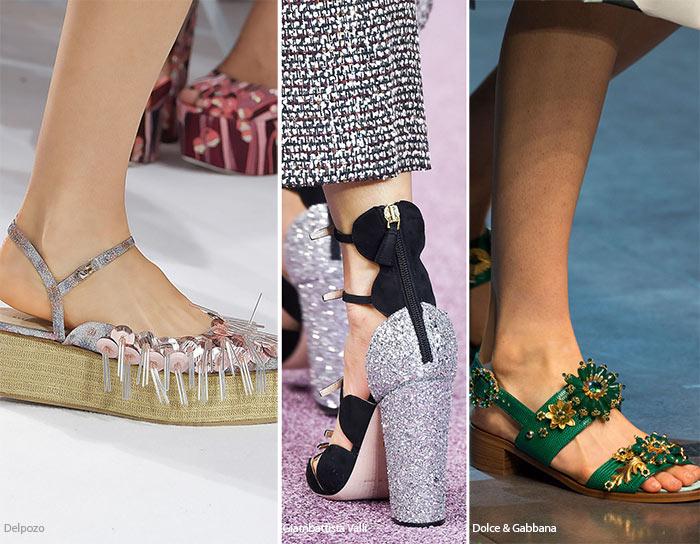 Блеск, блеск, блеск - тенденции обуви весна/лето 2016