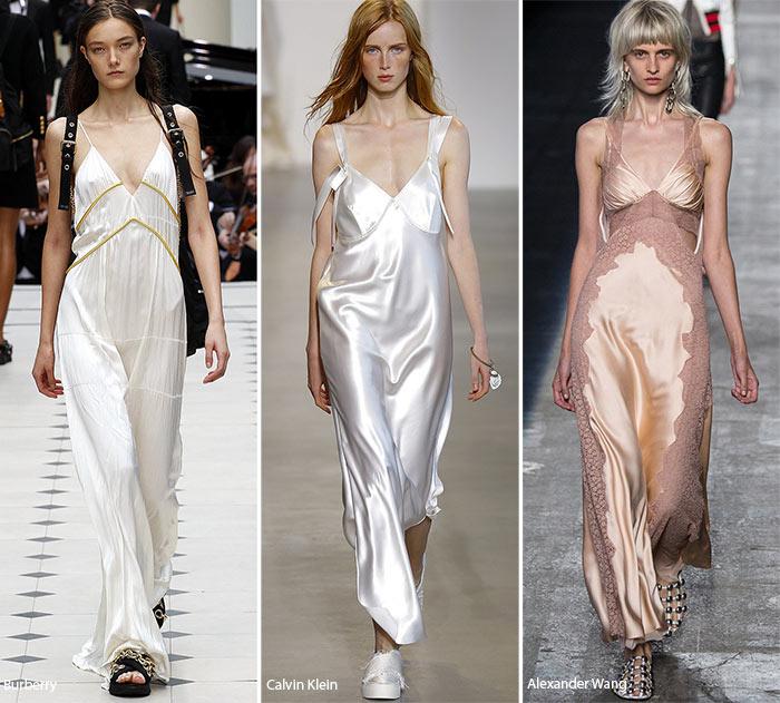 Модели в ночных рубашках - модные тенденции весна-лето 2016