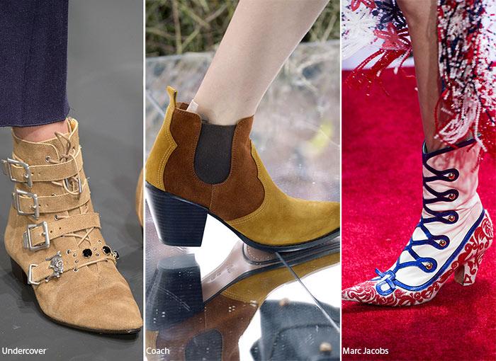 Дикий Запад 21 века - тенденции обуви весна/лето 2016