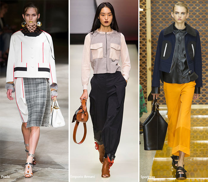 Квадратные жакеты - модные тенденции весна-лето 2016