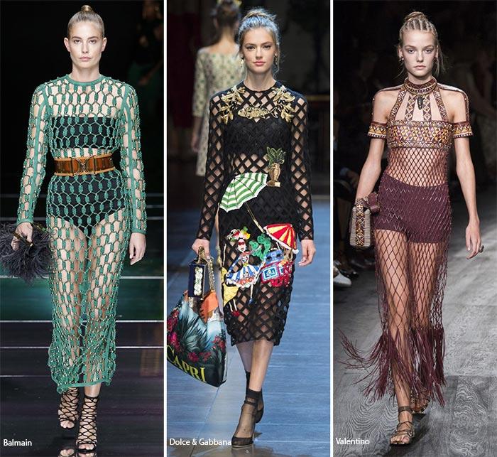 Модные сети - модные тенденции весна-лето 2016