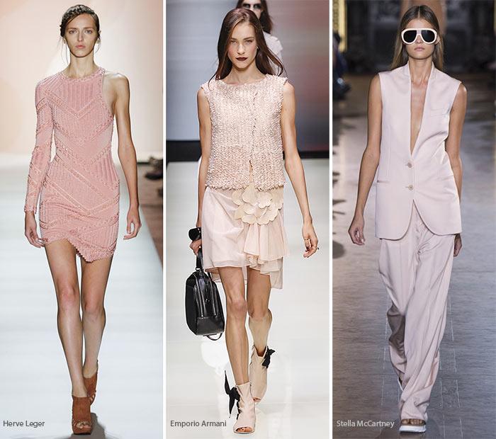 Модный цвет весналето 2016 - Розовая бледность