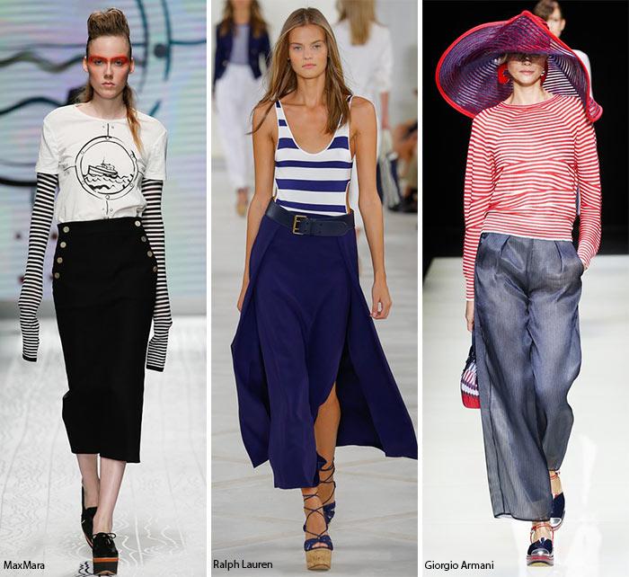 Морские детали - модные тенденции весна-лето 2016