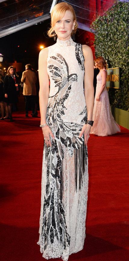 Николь Кидман в длинном платье в викторианском стиле