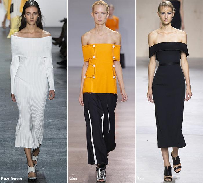 Обнаженные плечи 2 - модные тенденции весна-лето 2016
