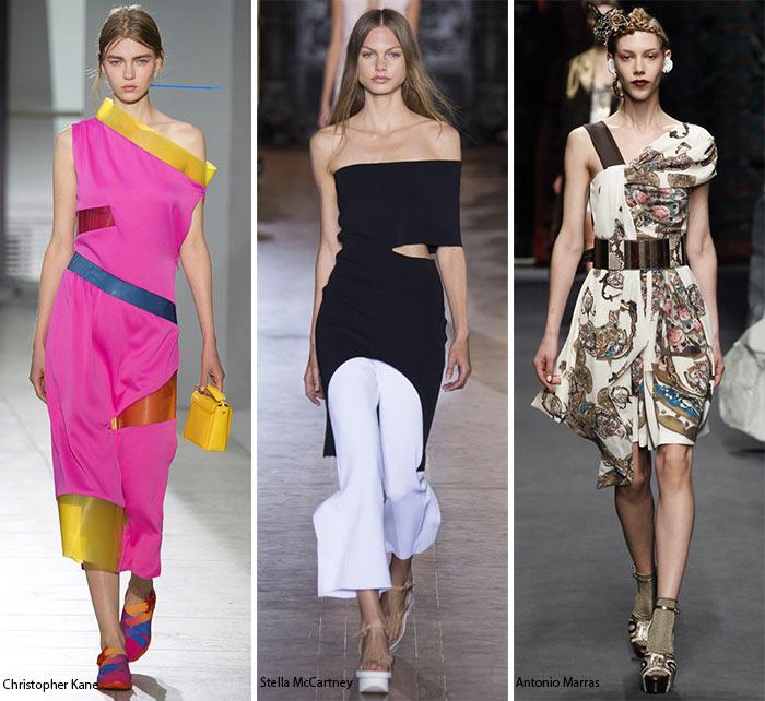 Обнаженные плечи 3 - модные тенденции весна-лето 2016