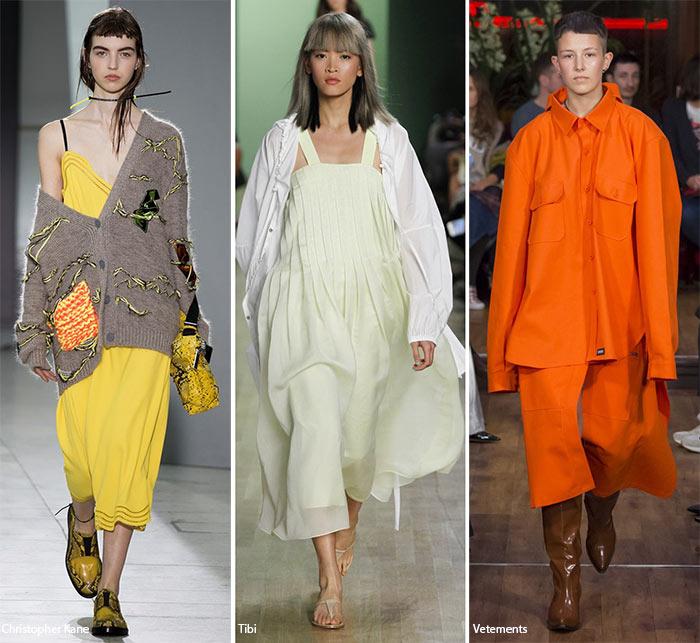 Овероверсайз - модные тенденции весна-лето 2016