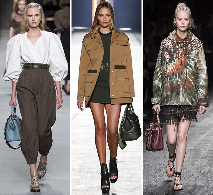 Сафари - модные тенденции весна-лето 2016