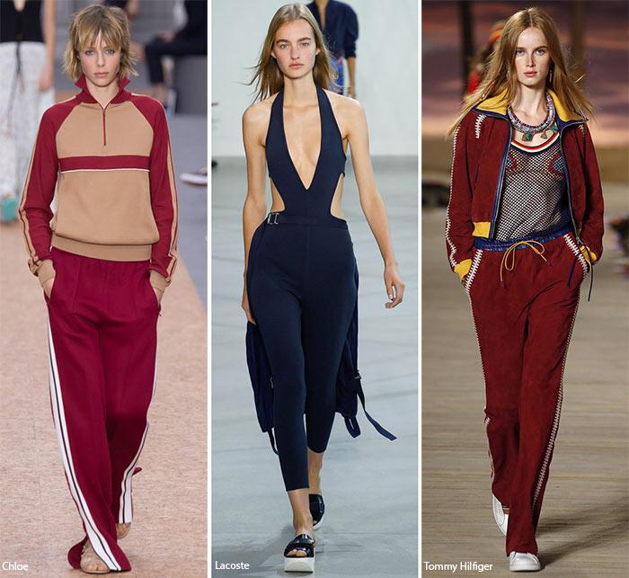 Спортивная атмосфера - модные тенденции весна-лето 2016