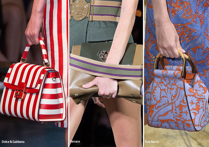 Сумки полностью совпадающие с одеждой - тенденции в сумках весна/лето 2016